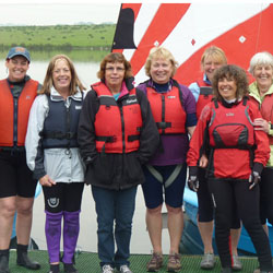 Women's sailing group and women only events