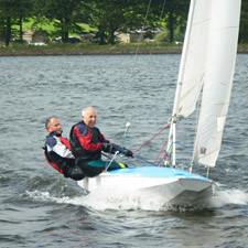 East Lancashire advanced RYA sailing courses