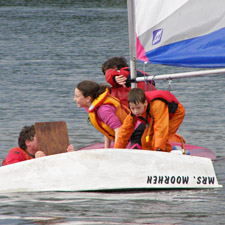 Beginning to learn to sail for all ages